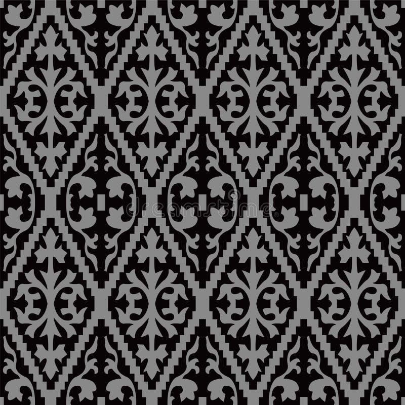 Imagen de fondo antigua oscura elegante del espiral dentado del control libre illustration
