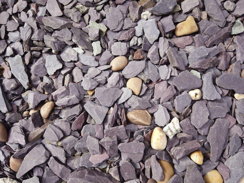 Imagen de fondo azul de las piedras de la pizarra imágenes de archivo libres de regalías