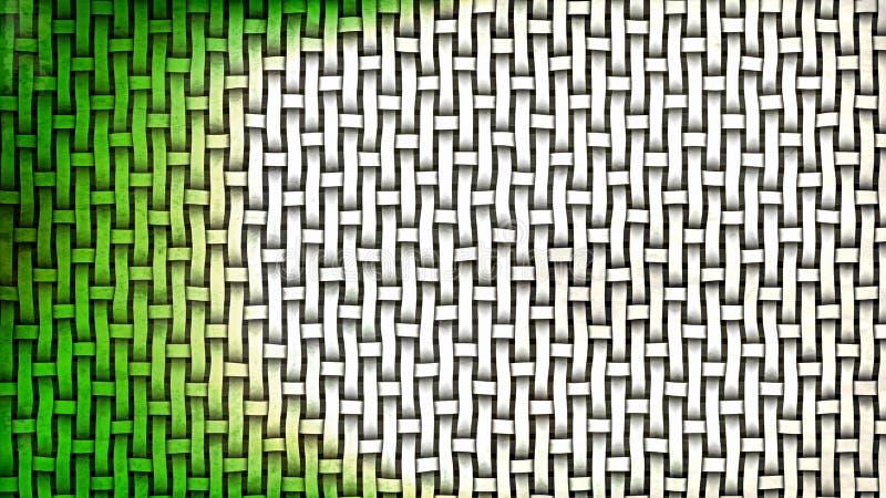 Imagen de fondo de bambú verde y blanca stock de ilustración