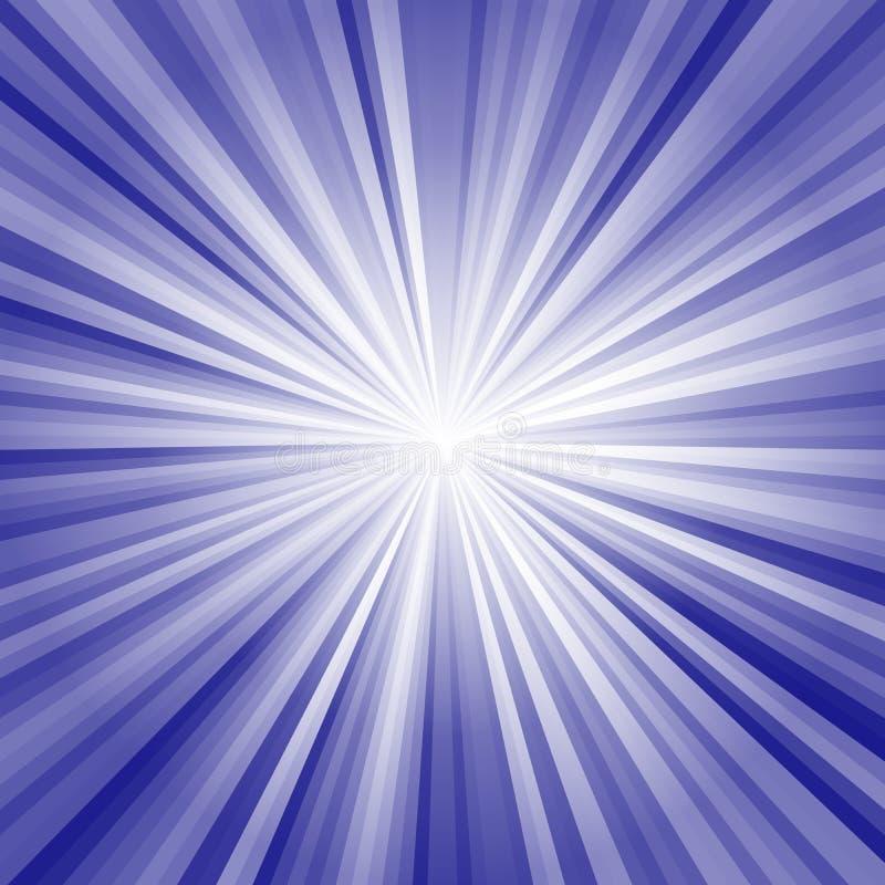 Imagen de fondo con los haces luminosos y los rayos libre illustration
