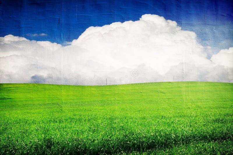 Imagen de Grunge del paisaje imagen de archivo libre de regalías