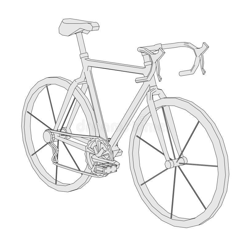 Imagen de la bici clásica libre illustration