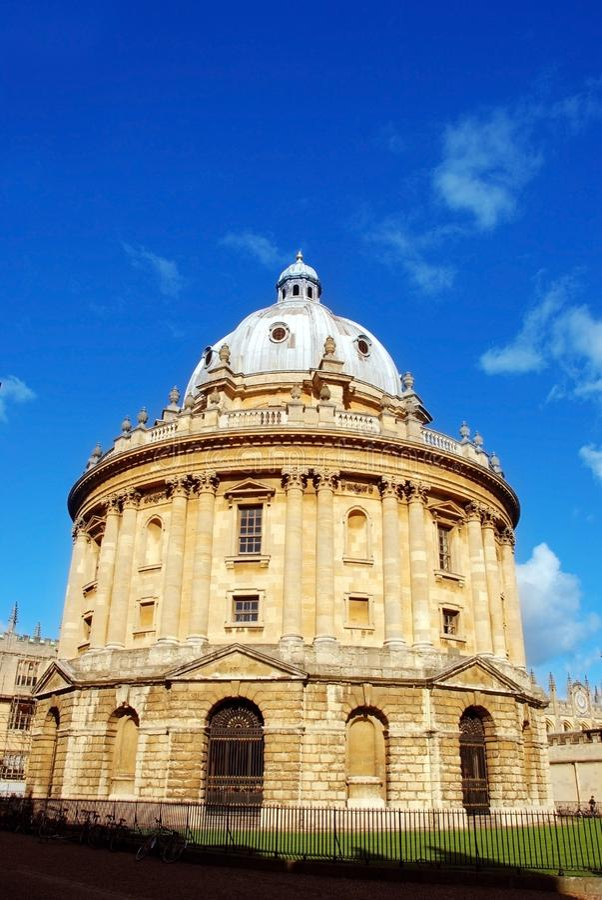 Imagen de la cámara del radcliffe, Oxford, Reino Unido, biblioteca foto de archivo libre de regalías