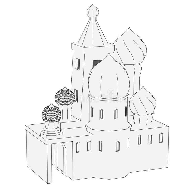 Imagen de la casa rusa libre illustration