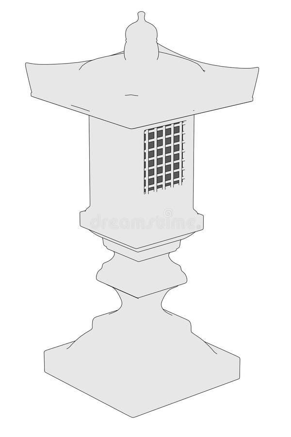Imagen de la estatua de Japón libre illustration