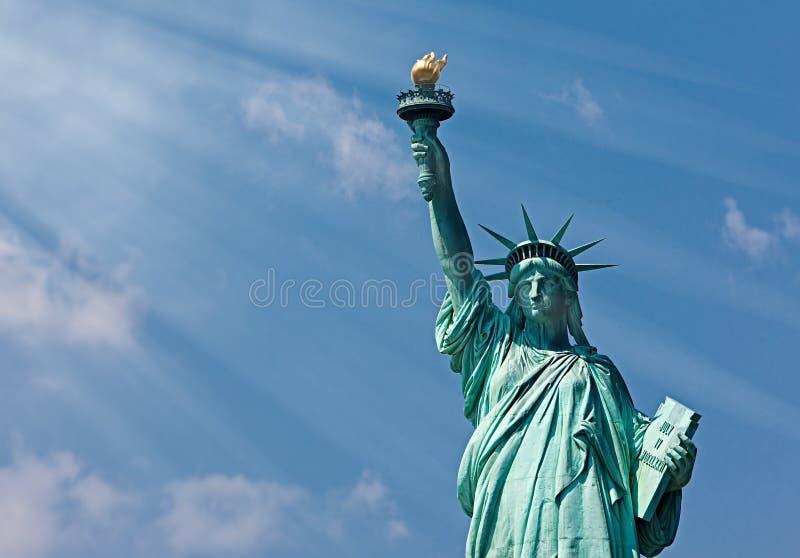 Imagen de la estatua de la libertad, Nueva York foto de archivo libre de regalías