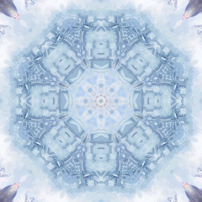 Imagen de la foto de la Golpeteo-textura del extracto del azul de cielo fotos de archivo
