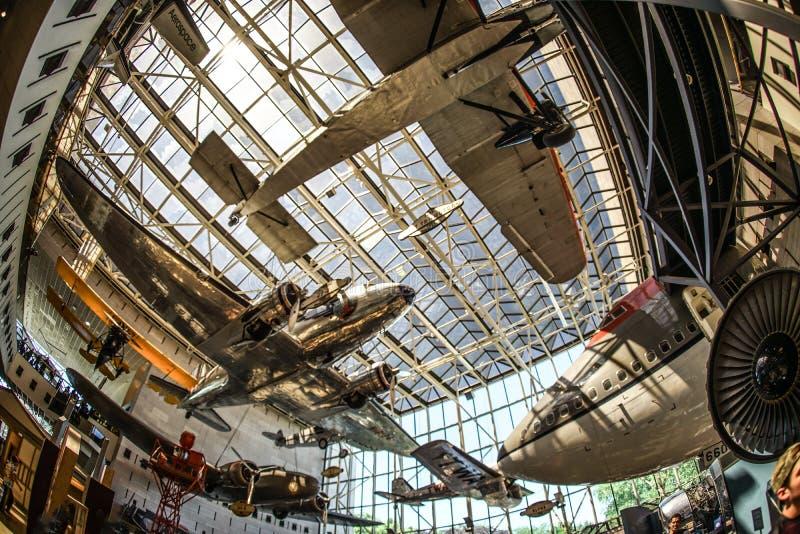 Imagen de la industria aeroespacial imágenes de archivo libres de regalías