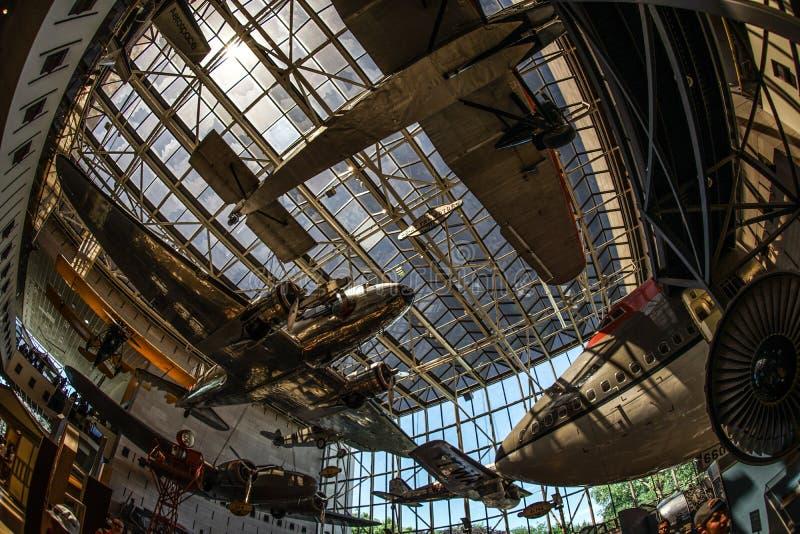 Imagen de la industria aeroespacial fotografía de archivo libre de regalías