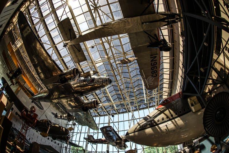 Imagen de la industria aeroespacial foto de archivo libre de regalías