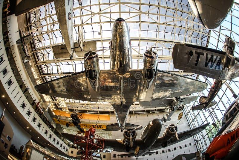 Imagen de la industria aeroespacial fotografía de archivo