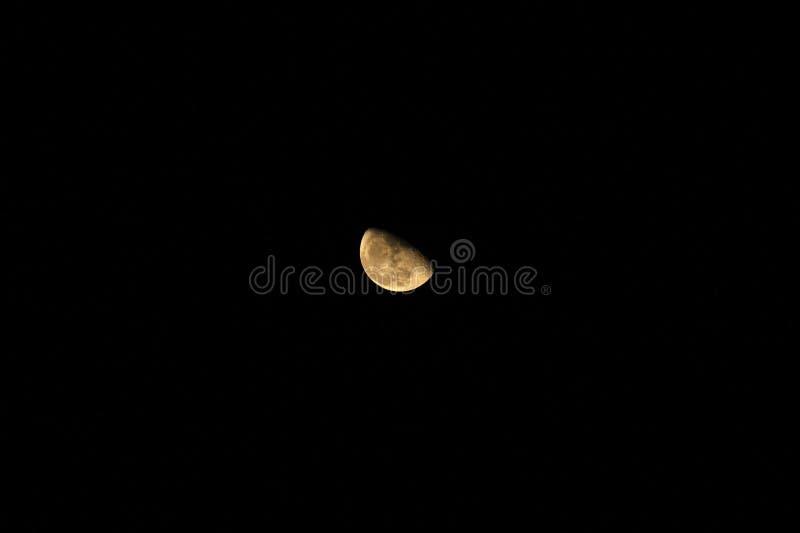 Imagen de la luna fotografía de archivo libre de regalías