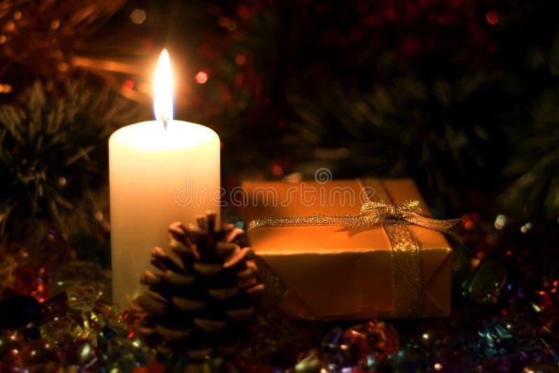 Imagen de la Navidad para la mesa fotografía de archivo libre de regalías