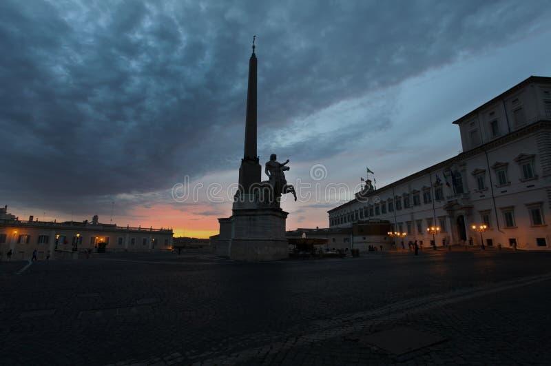 Imagen de la noche de Roma fotos de archivo libres de regalías