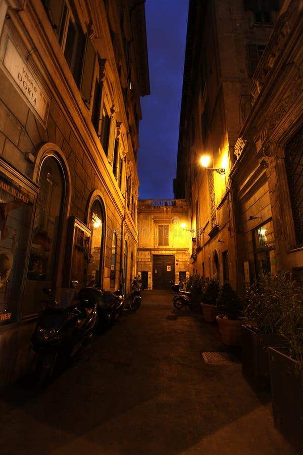 Imagen de la noche de Roma foto de archivo libre de regalías