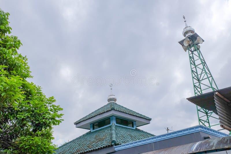 Imagen de la torre de la mezquita foto de archivo libre de regalías