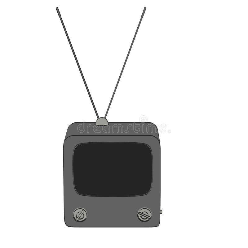 Imagen de la TV retra libre illustration