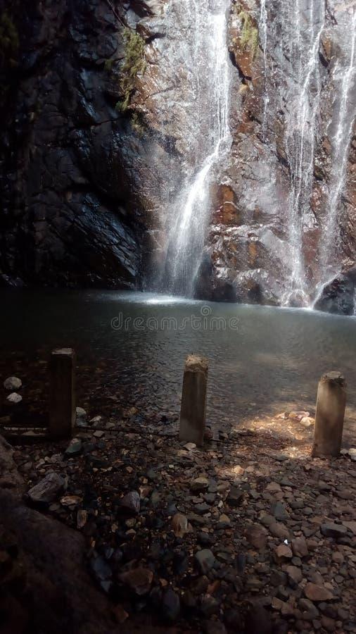 Imagen de las cascadas de la India foto de archivo