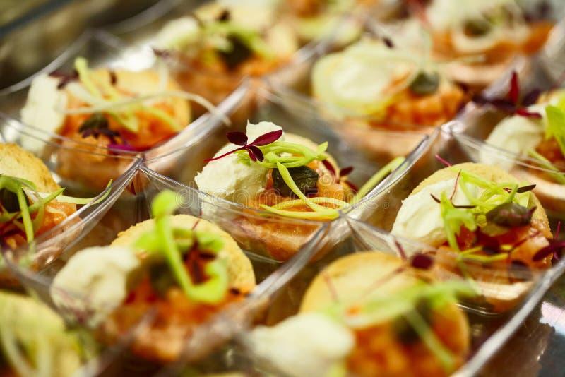 Imagen de las comidas de finger fotografía de archivo