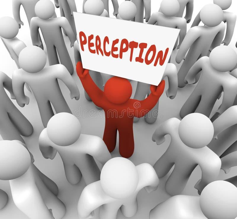 Imagen de los clientes de la audiencia de la atención de la muestra de la palabra de la opinión libre illustration