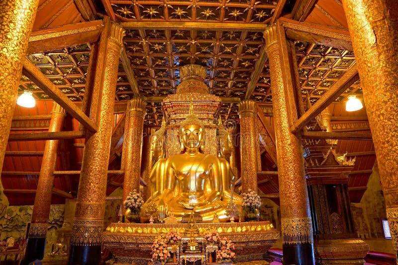 Imagen de oro de cuatro Buda en el AMI foto de archivo