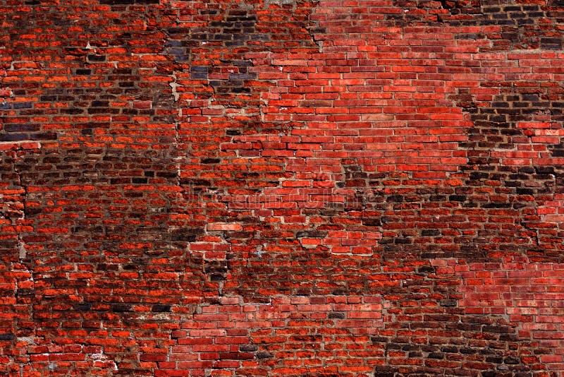 Imagen de una pared de ladrillo usada como fondo imagen de archivo