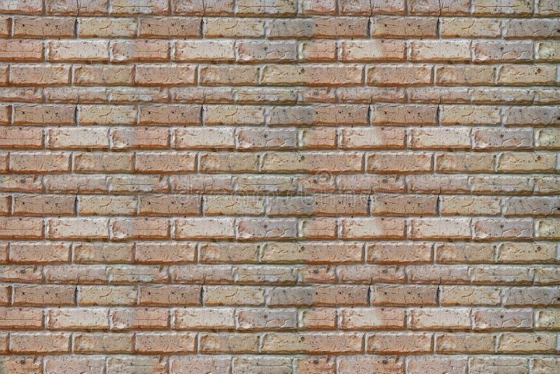 Imagen de una pared de ladrillo usada como fondo foto de archivo libre de regalías