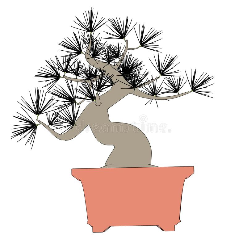 Imagen del árbol de los bonsais libre illustration