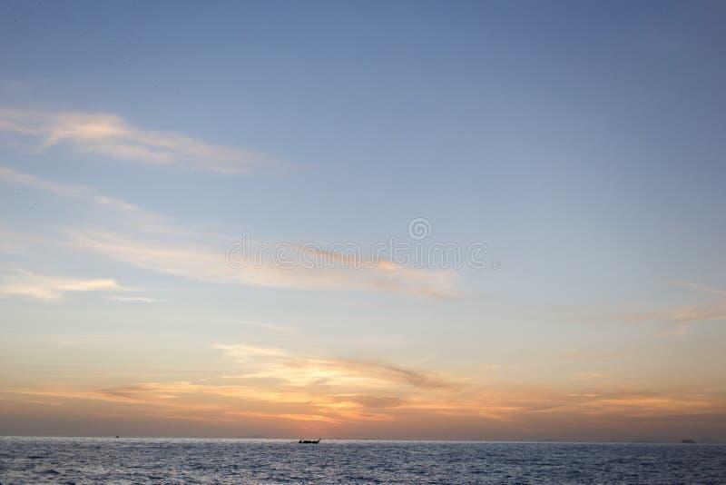 Imagen del cielo con las nubes imágenes de archivo libres de regalías