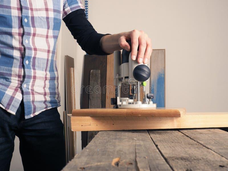 Imagen del concepto de la carpintería o de la carpintería fotografía de archivo