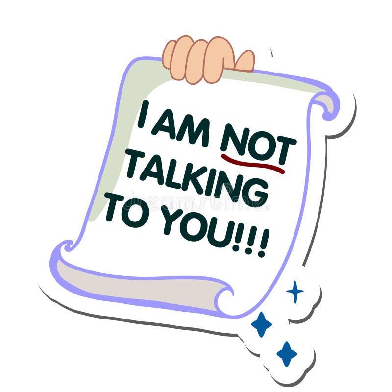 Imagen del diseño de mensaje de SMS Alarma de SMS a un ejemplo plano del teléfono móvil Enviando y recibiendo mensajes de SMS stock de ilustración