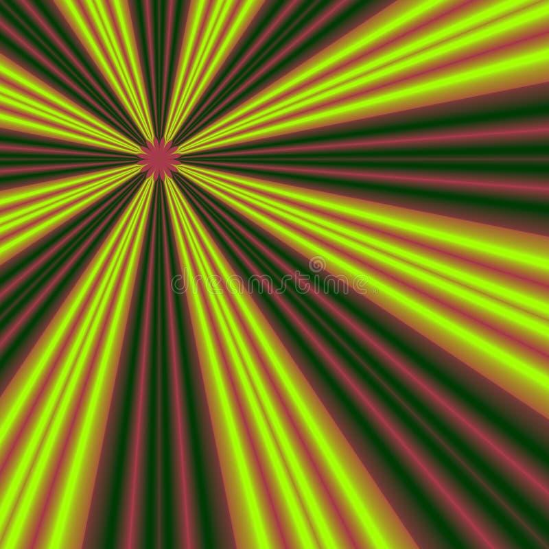 Imagen del fractal stock de ilustración