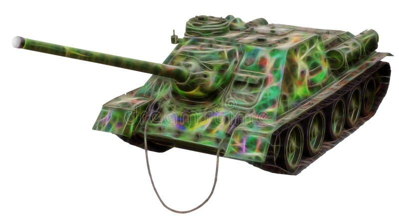 Imagen del fractal del tanque viejo imagenes de archivo