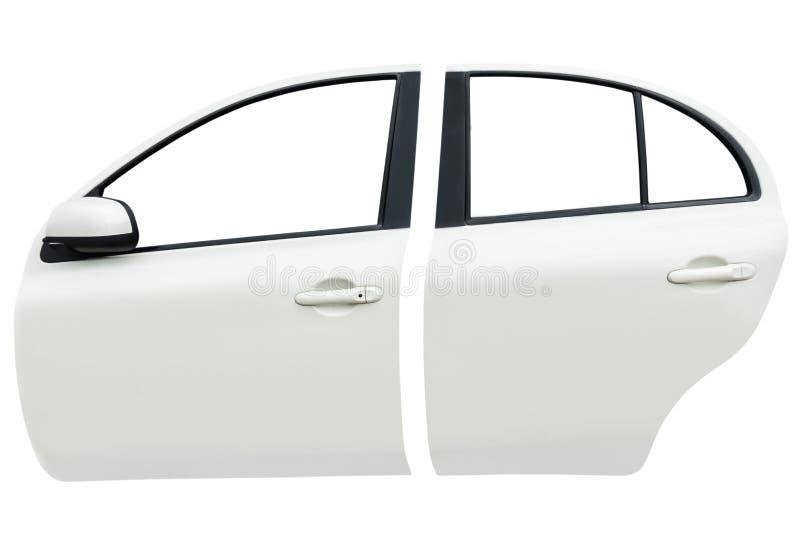 Imagen del frente lateral y de la puerta de coche trasera fotos de archivo libres de regalías