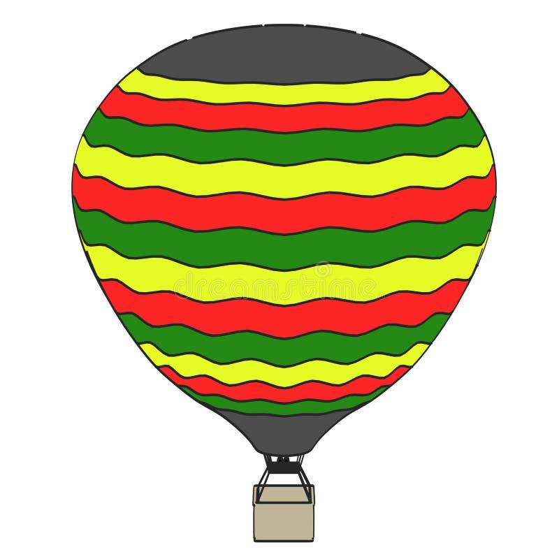 Imagen del globo del aire caliente libre illustration