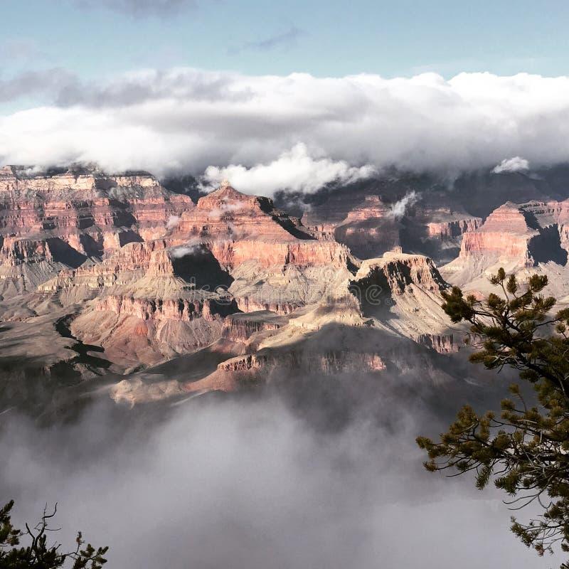 Imagen del Gran Cañón imagen de archivo libre de regalías