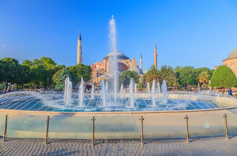 Imagen del Hagia Sophia en Estambul fotografía de archivo libre de regalías