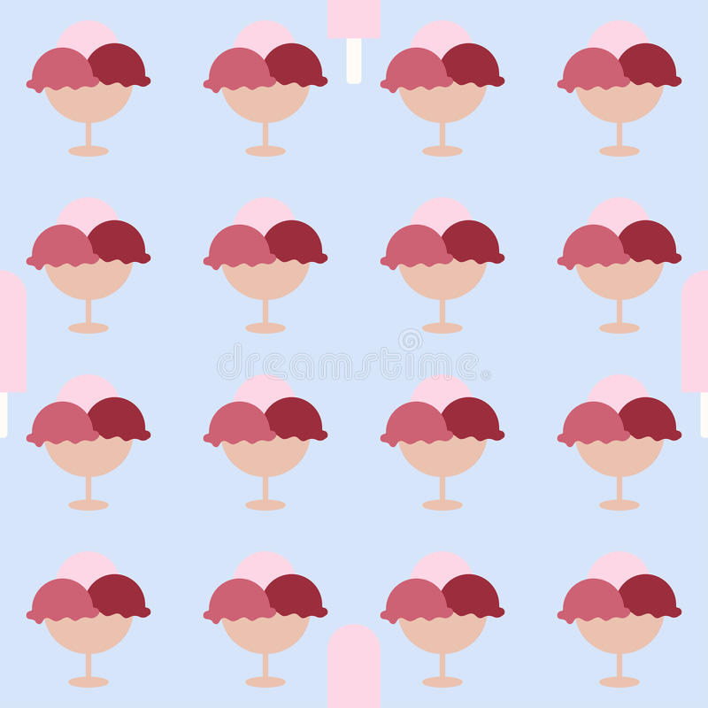 Imagen del helado Background ilustración del vector