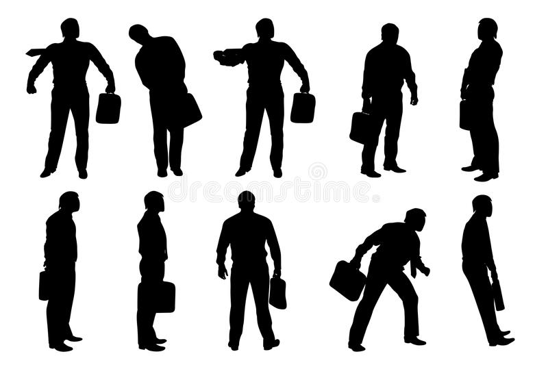 Imagen del hombre de negocios libre illustration