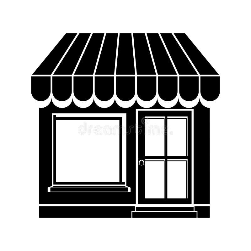Imagen del icono de la pequeña tienda libre illustration