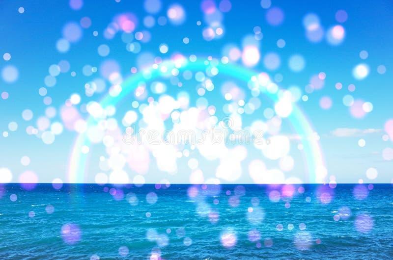 Imagen del mar del verano foto de archivo libre de regalías
