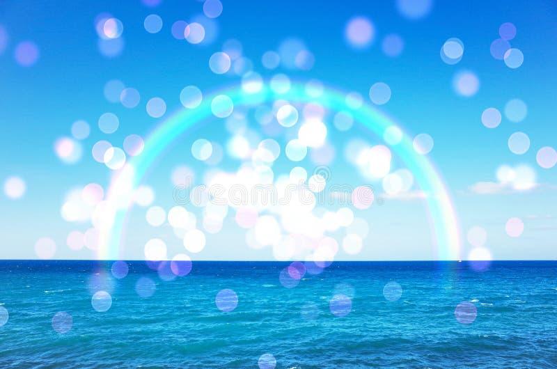 Imagen del mar del verano imagen de archivo