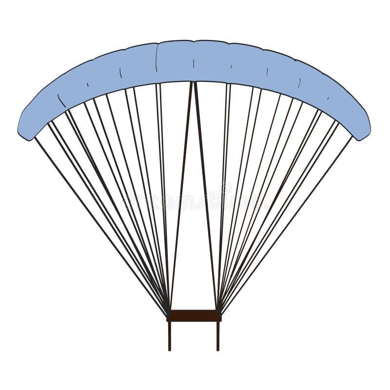 Imagen del paracaídas stock de ilustración