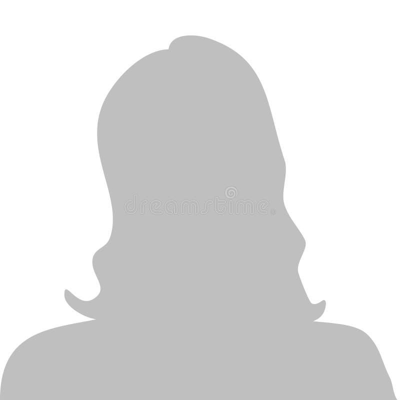 Imagen del perfil ilustración del vector