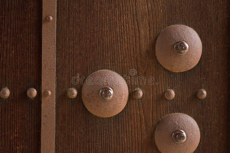 Imagen del primer de puertas antiguas fotografía de archivo