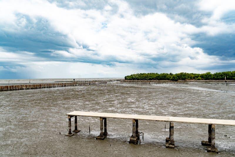 Imagen del puente y del mar foto de archivo libre de regalías