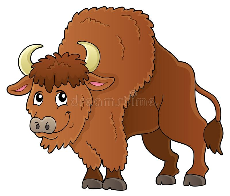 Imagen 1 del tema del bisonte libre illustration