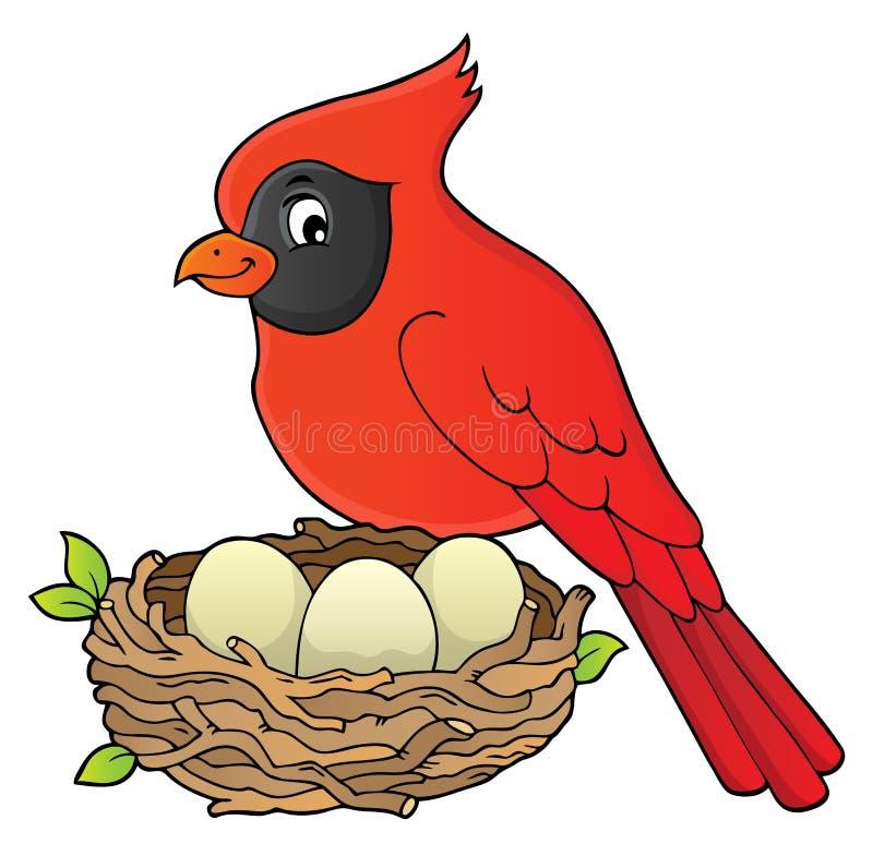 Imagen 8 del tema del pájaro ilustración del vector