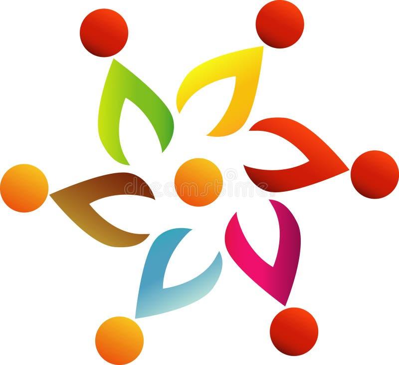 Imagen del vector de las plantillas del logotipo de la flor de la consulta Vector el logotipo para el dise?o web, el m?vil y el i libre illustration