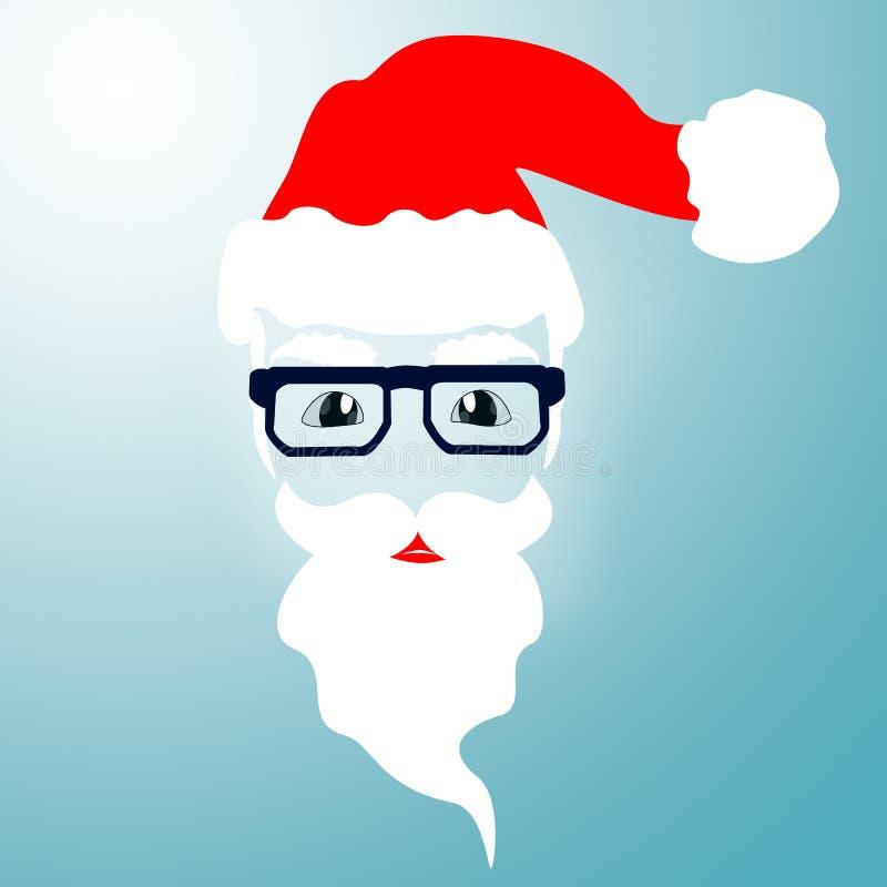 Imagen del vector de Santa Claus La Navidad, Año Nuevo, Eve ilustración del vector